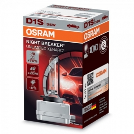 D1S Osram Night Breaker Unlimited Xenarc,+70% TOP