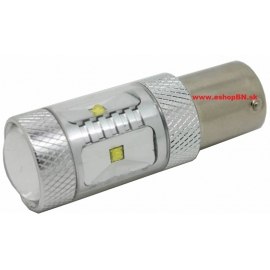CREE LED BAY15D 12-24V,30W (6x5W) červená,1ks