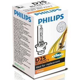 Philips Xenon Vision D2S, 35W, 4600K, 85122VIC, 12V/24V TOP