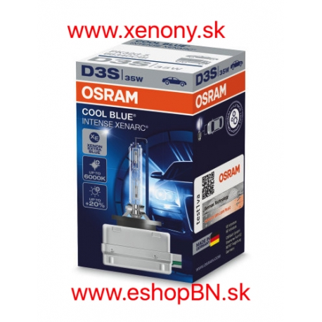 Osram Cool Blue Intense Xenarc D3S 6000K 1KS