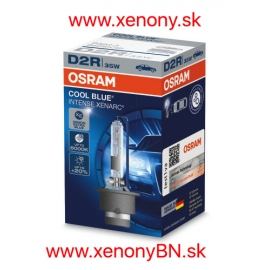 Osram Cool Blue Intense Xenarc D2R 6000K +20% 12V, 24V TOP