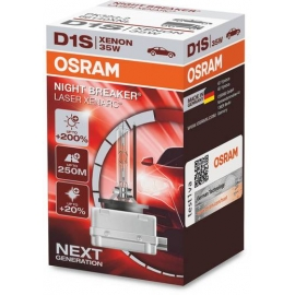 D1S Osram Night Breaker LASER Xenarc,+200%