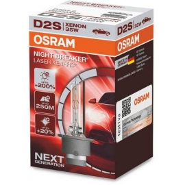 D2S Osram Night Breaker LASER Xenarc,+200%